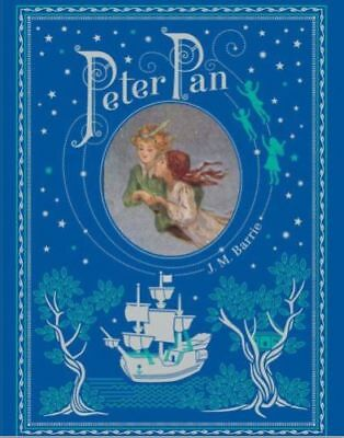 Peter Pan by J. M. Barrie Illustrated Brand New Sealed Leather Bound Collectible