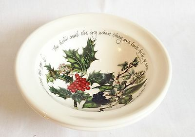 NEW Portmeirion The Holly and The Ivy Oatmeal Bowls x 2 - 6 3/4 Inch
