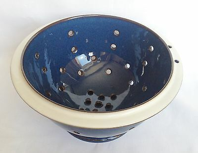 RARE Denby Imperial Blue Colander - Boston Blue ?