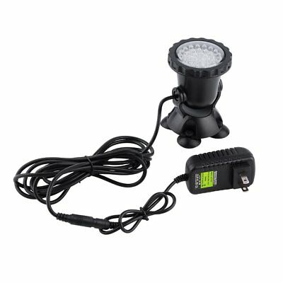 36 LED Submersible Underwater Spot Light Outdoor Garden Pond Fish Tank Lamp S1