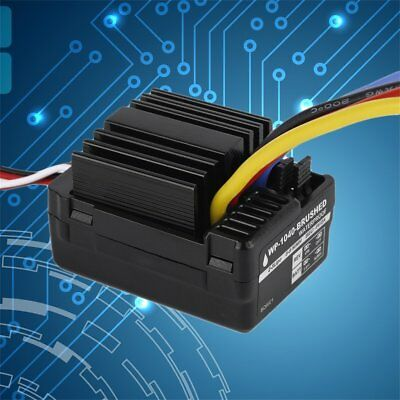 WP 1040 60A Waterproof Brushed ESC Controller for Hobbywing Quicrun Car Motor S1
