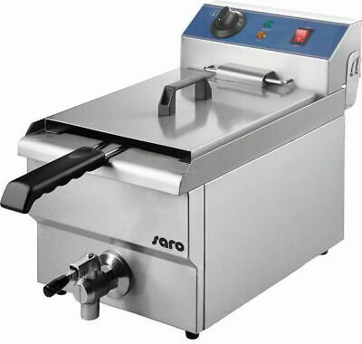 Saro Stainless Steel Fryer Model ft 13 with Drain Tap