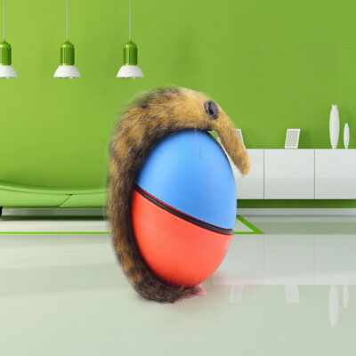 Dog Cat Weasel Motorized Funny Rolling Ball Pet Appears Jump Moving Alive Toy S1