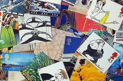 GB Stamps - DISCOUNTED CHEAP POSTAGE - Face Value £10 - 100% gum - Cut costs!