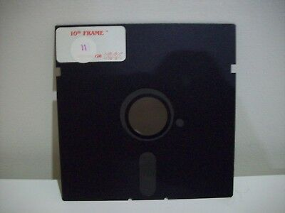 10Th Frame -  Commodore 64 Game Floppy Disc Vintage Collectable