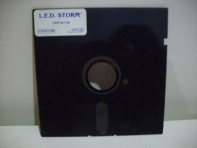L.e.d. Storm -  Commodore 64  /128 Game Floppy Disc Vintage Collectable