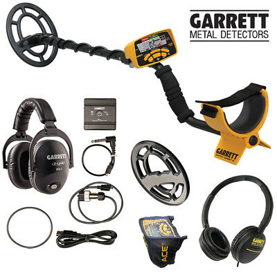 NEW Garrett ACE 300i Metal Detector with MS3 wireless Z-Link kit
