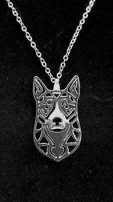 Australian Cattle Dog Cute necklace 18""