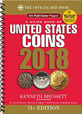Guide Book United States Coins 2018 Price Guidance Full Color Pages Reading Read