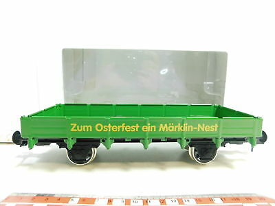 bi637-2# Märklin Maxi 1 Gauge / AC Low-Sided Wagon for Easter One Nest, MINT