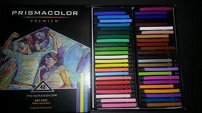 Prismacolor Premier Art Stix woodless colored pencils 48