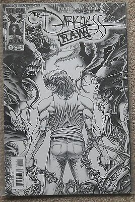 The Darkness Issue 1 Black & White Sketch Variant RARE