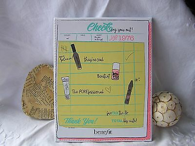 "BENEFIT Limited Edition  ""Checking you out!""  Foldable Table Top Mirror BNUB"