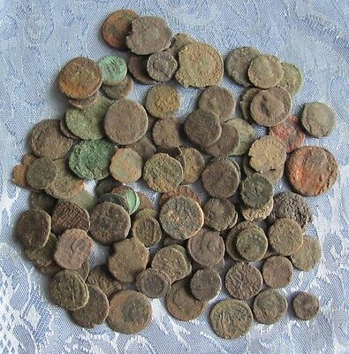 Lot of 10 Roman Bronze Coins - Imperial and Provincial