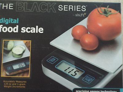Digital black food scale precision sensor technology by Precision
