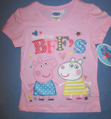 Peppa Pig Toddler girls T-shirt choice New