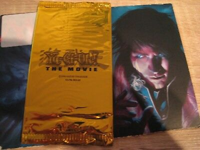 THE MOVIE Goldenes Booster Pack Kinobesuch Promo Gold Movie Pack 2004 Yu-Gi-Oh
