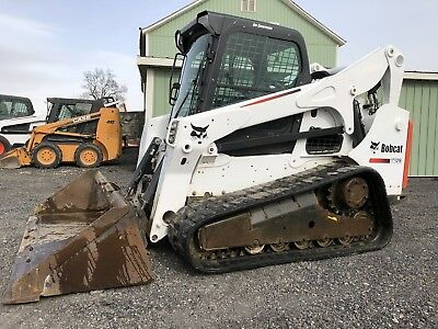 2014 Bobcat T750 Compact Track Skid Loader High Flow Cheap Shipping Rates