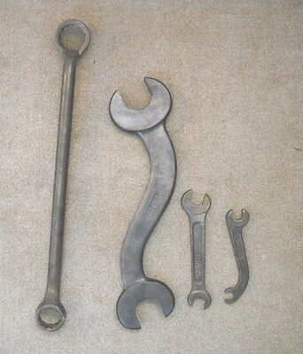 IHC International Harvester Company Wrenches Vintage Mechanic tools Farm gear