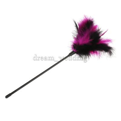 Romantische Unfug Intimate Requisiten Fluffy Feather Tickler Tease Party Toy