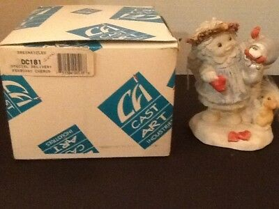 "Dreamsicles ""Special Delivery"" 1993 Signed Kristin Retired W/ Original Box DC181"