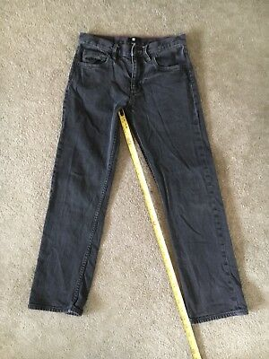 Mens Boys DC SHOE CO. Relaxed Fit jeans size 28X30 great condition black