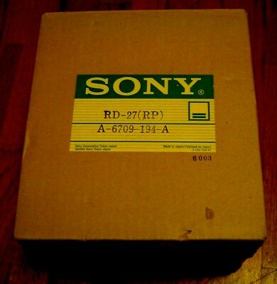 NEW SONY RD-27(RP) A-6709-194-A upper lower DRUM HEAD ASSEMBLY