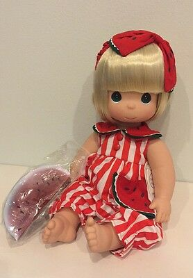 "NEW PRECIOUS MOMENTS DOLL ""Wendy Watermelon"" Tooty Fruity Series #4247 NWT"