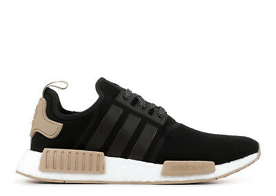 5e7a40ae8 ADIDAS NMD R1 BLACK WOOL TAN KHAKI CHAMPS EXCLUSIVE CQ0760 Men s ...