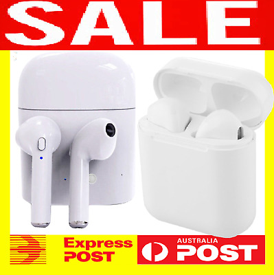 Wireless Headset Bluetooth 4.2 Earphone Stereo Earbud For iPhone 5 6 7 8 Plus X