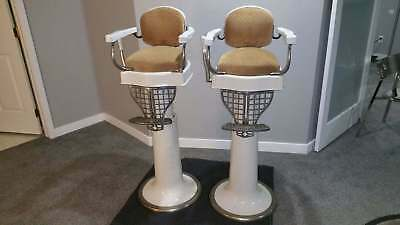 1920s Twin Set Paidar child kids barber chairs excellent condition
