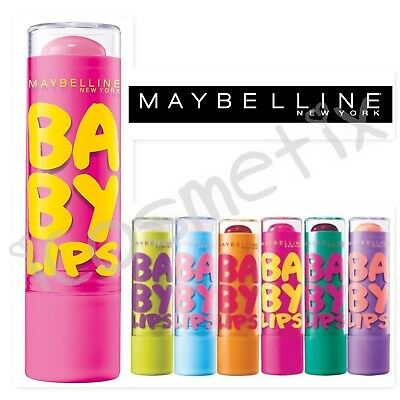 Maybelline Baby Lips Balm 8H Moisture Carded - Choice of Fragrance