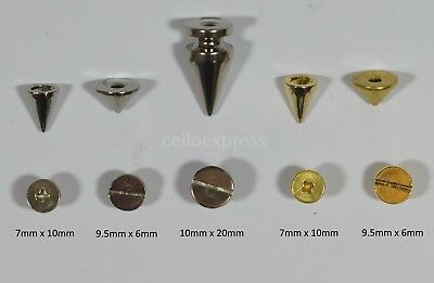 Screw Spike Rivet for Metal craft, Leather work, Clothing Jewellery Findings