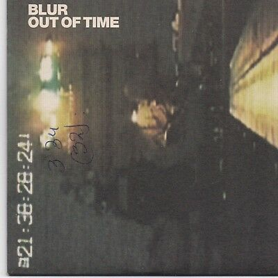 Blur-Out Of Time promo cd single