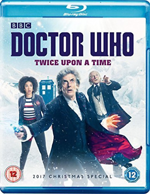 Doctor Who Xmas Spec 2017 Twice Upon A Time Bd  BLU-RAY NEW