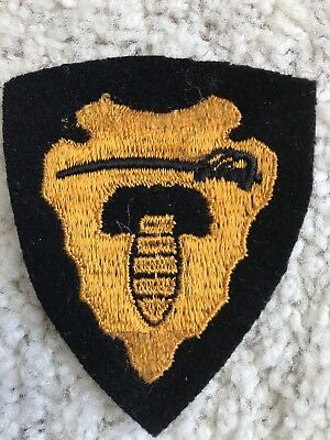 64th Cavalry Patch, Embroidery on Felt, US Army Original