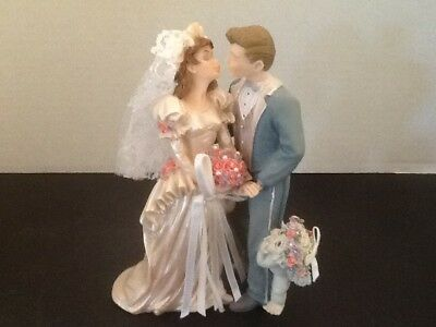 "Dreamsicles ""The Happy Couple"" Bride Groom 97 Signed Kristin Retired W/Box10219"