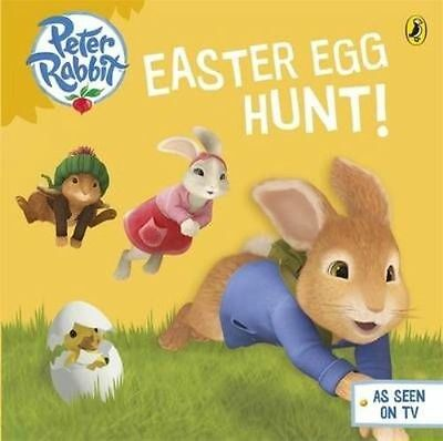 Peter Rabbit animation: Easter Egg Hunt! by Beatrix Potter (Board book, 2014) B4