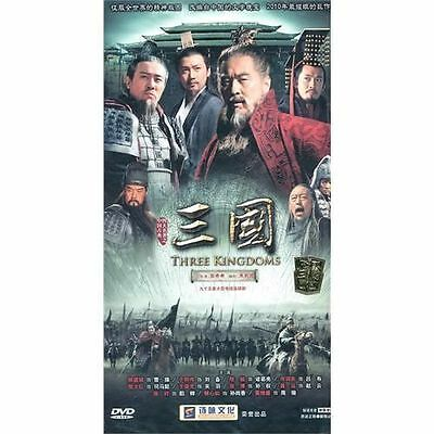 2010 NEW Three Kingdoms 三國 18 DVD 95episodes (English Subs) Ship from US
