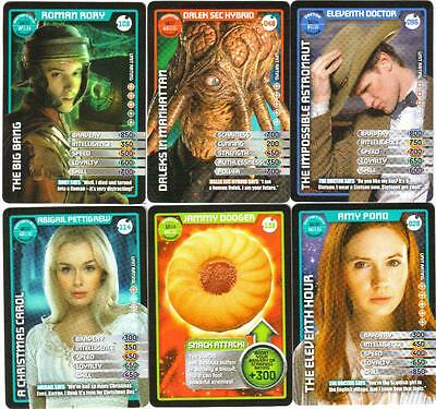 Bundle Lot of 70 Doctor Who Monster Invasion Common & Rare Trading Cards Dr Who
