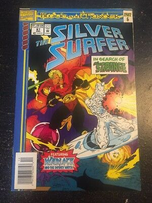 Silver Surfer#87 Incredible Condition 9.0(1993) Warlock,Dr.Strange Search!!