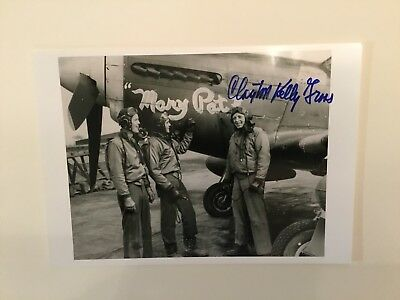 Fighter Ace, Autographed, 354th Fighter Group