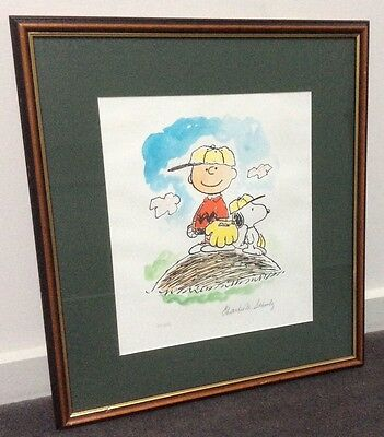 Charlie Brown Peanuts Limited Edition - signed by creator Charles Schulz