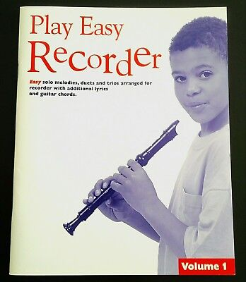 """Play Easy Recorder 1"" Lieder f. Blockflöte, z.T. 2-stimmig"