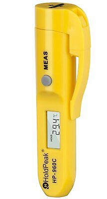 HOLDPEAK 960C Digital Laser IR Infrared Thermometer With Data Hold For Cooking /