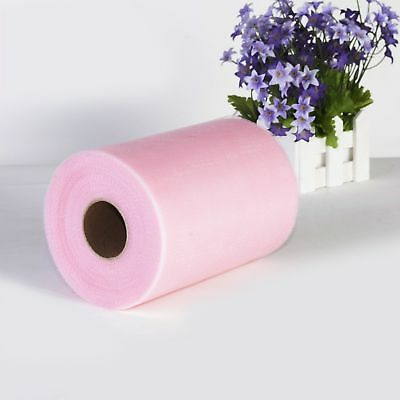 light pink tulle roll 6 inches by 100 yards