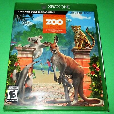ZOO TYCOON: ULTIMATE Animal Collection Xbox One *Brand New! *Free Shipping!