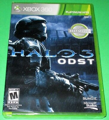 Halo 3: ODST Xbox 360 *Brand New! *Sealed! *Free Shipping!
