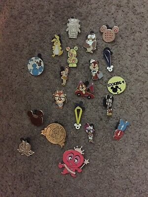 Disney Pin Trading Lot of 30 Random Assorted Pins - No Doubles - Tradable
