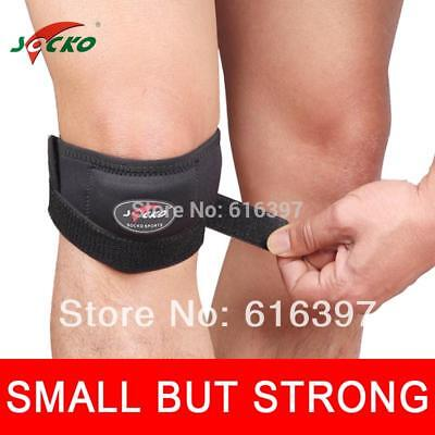 Knee Strap Patella Tendon Brace Support Band Protector Gym Adjustable Sports New